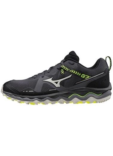 Mizuno Wave Mujin 7 Erkek Koşu Ayakkabısı Siyah Siyah